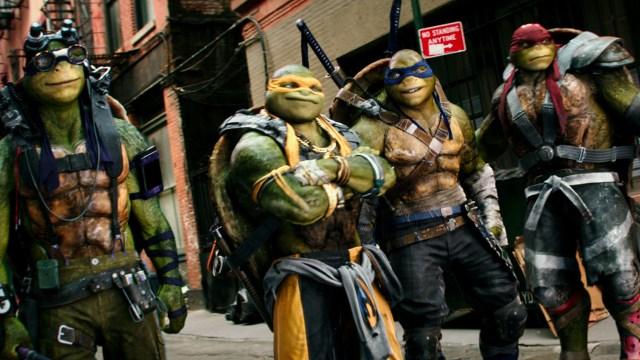 Imagen de la películas Tortugas Ninja