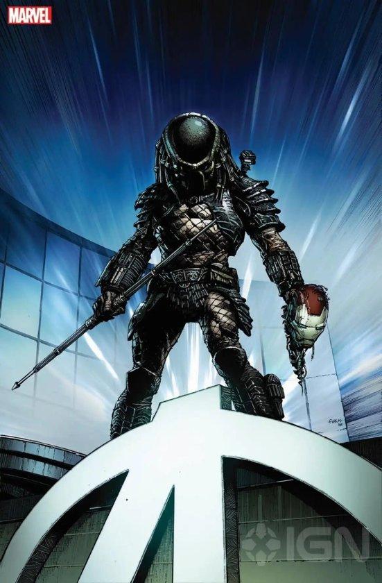 Ilustración de Depredador de Marvel Comics