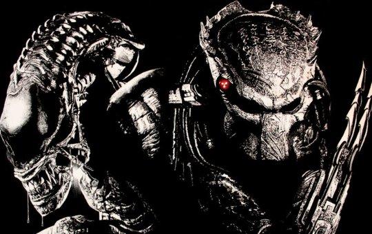 Fotografía de Alien y Depredador