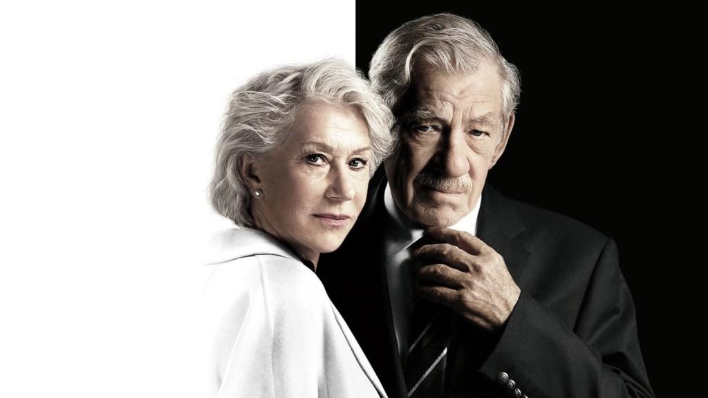 Fotografía de Helen Mirren e Ian McKellen en El buen mentiroso