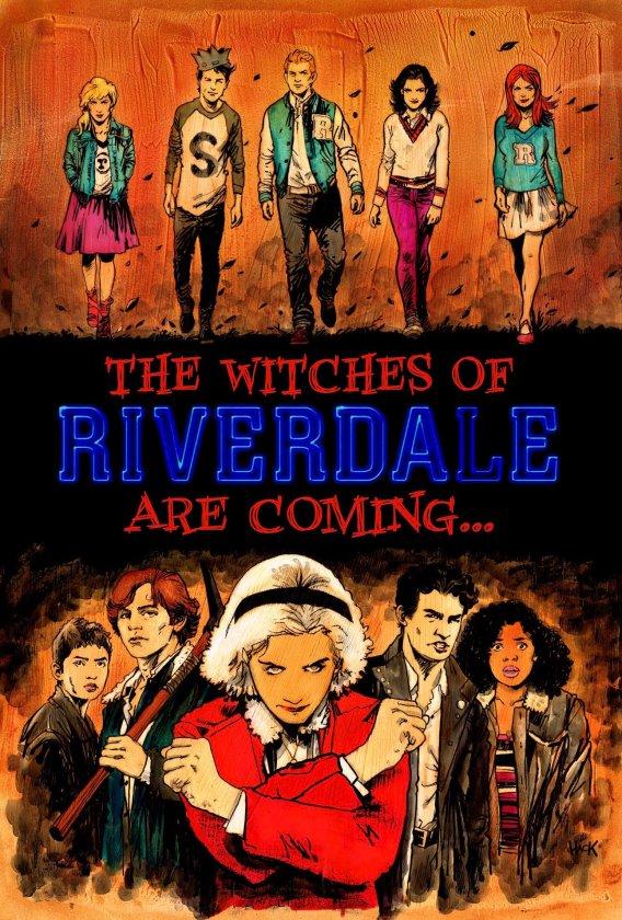 Cómic de Sabrina con Riverdale
