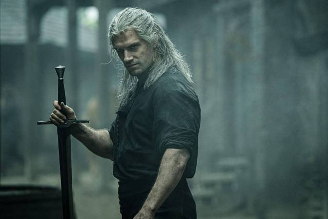 Fotografía de Henry Cavill en The Witcher, serie de Netflix