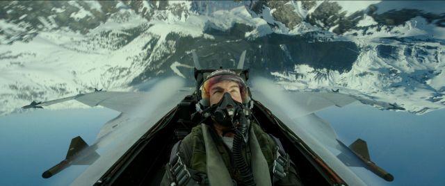 Fotografía de Tom Cruise en Top Gun: Maverick