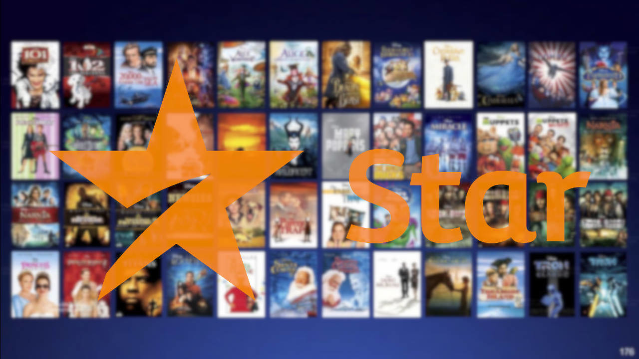 Logo de Star, nueva plataforma de streaming de Disney