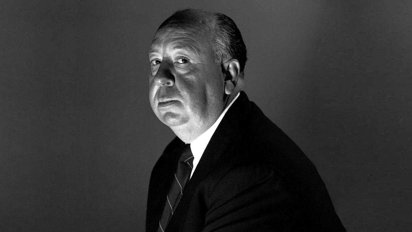 Fotografía de Alfred Hitchcock