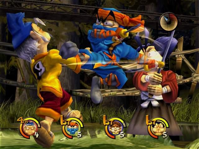Imagen del juego Kung Fu Chaos