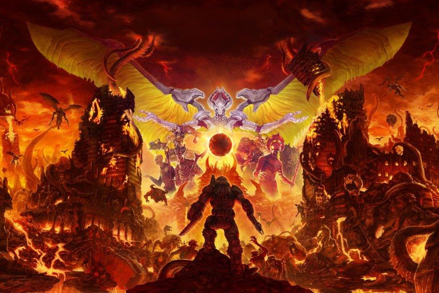 La edición física de 'DOOM Eternal' de Switch ha sido cancelada