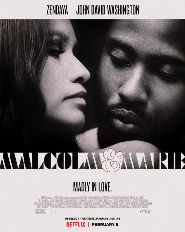 Tráiler oficial de 'Malcolm y Marie' con Zendaya y John David Washington