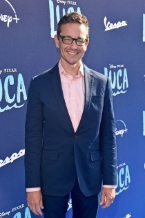 LOS ANGELES, CALIFORNIA - JUNE 17: Mike Jones arrives at the world premiere for LUCA, held at the El Capitan Theatre in Hollywood, California on June 17, 2021. (Photo by Alberto E. Rodriguez/Getty Images for Disney)