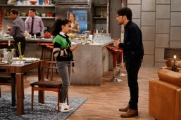 Pictured (L-R): Jaidyn Triplett as Millicent and Nathan Kress as Freddie of the Paramount+ series iCARLY. Photo Cr: Lisa Rose/Paramount+ ©2021, All Rights Reserved.