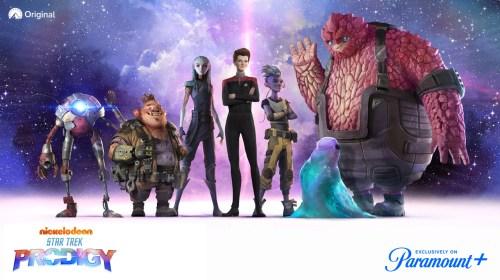 'Star Trek: Prodigy' llega en exclusiva a Paramount+