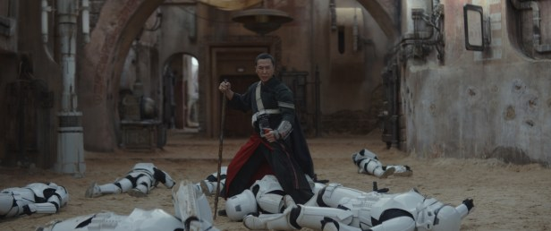 Rogue One: A Star Wars Story..Chirrut (Donnie Yen)..Photo credit: Lucasfilm/ILM..©2016 Lucasfilm Ltd. All Rights Reserved.
