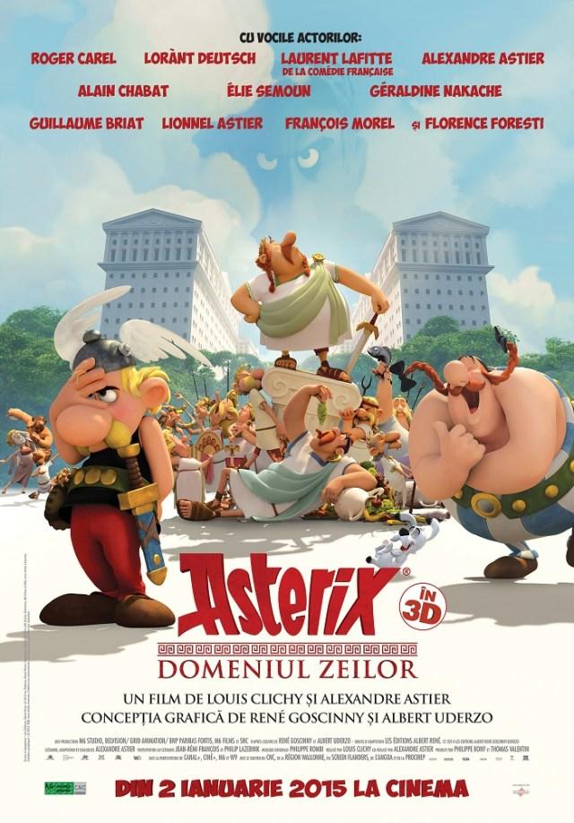 Asterix Domeniul Zeilor