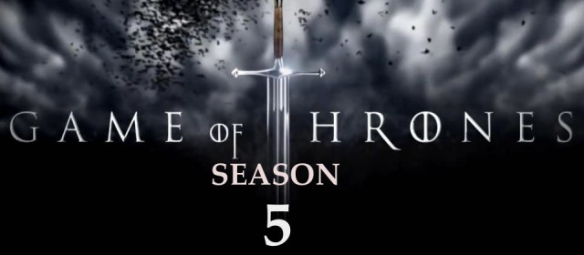 Games of Thrones Season 5 POSTER