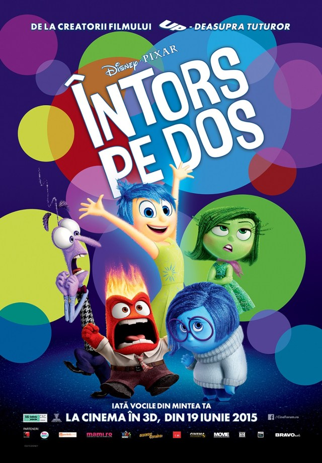 Inside Out - Intors pe Dos POSTER