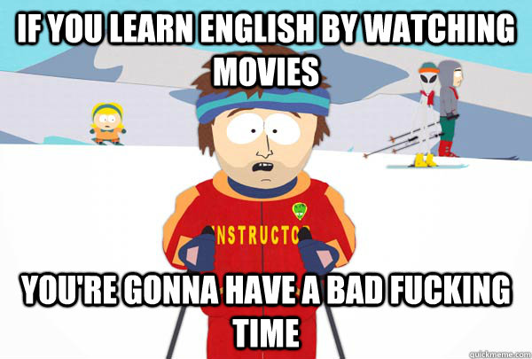 English from movies