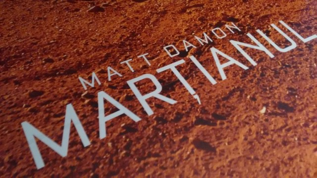 Matt Damon Martianul