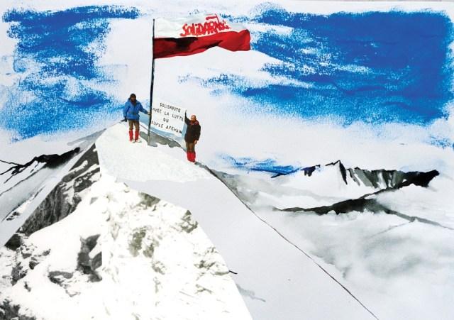 Muntele Magic Mont Blanc