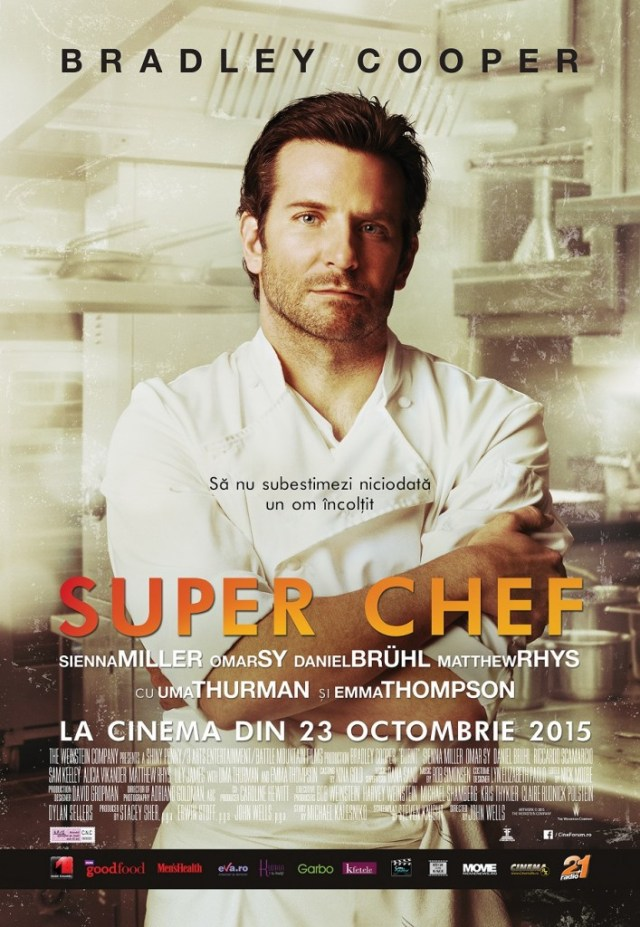 Burnt Super Chef poster