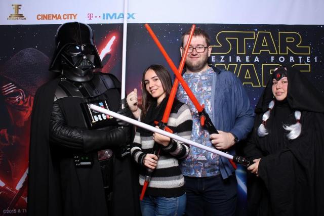 Star Wars Trezirea fortei Avanpremiera Darth Vader