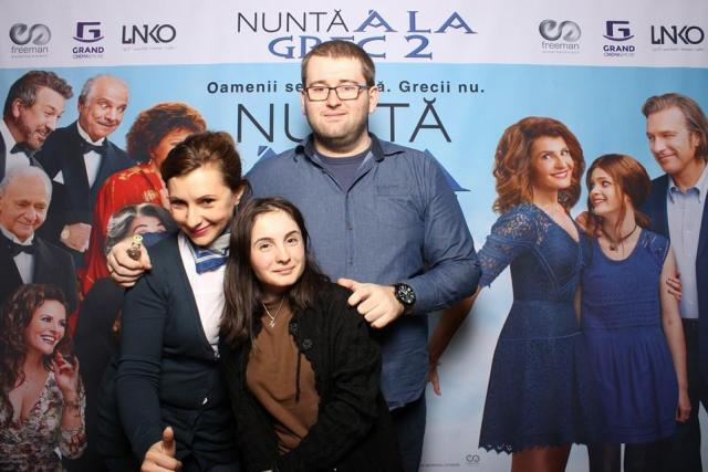 Avanpremiera Nunta a la grec Bloggeri