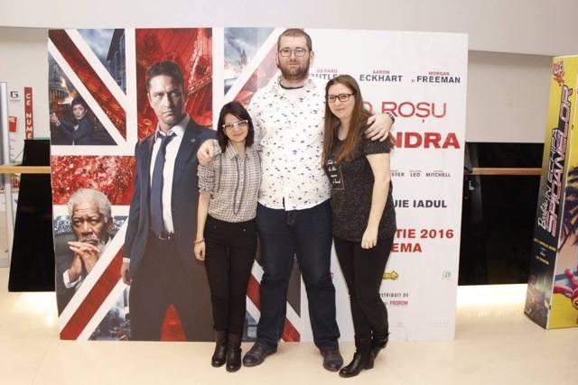 London has Fallen - Cod Rosu la Londra Andreea Emil Andreea