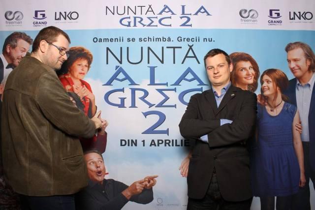 Nunta a la grec AVANPREMIERA Emil Calinescu Andrei Ciobanu