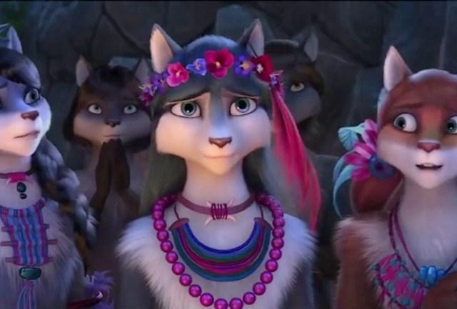 Un lup printre oi animatie 2016