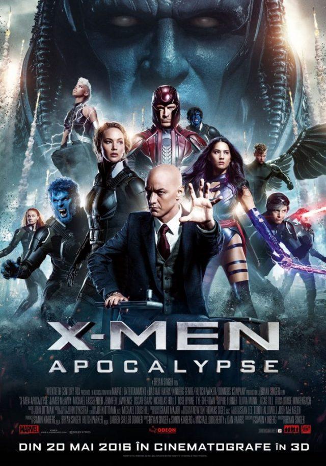 X-men Apocalypse POSTER Romania