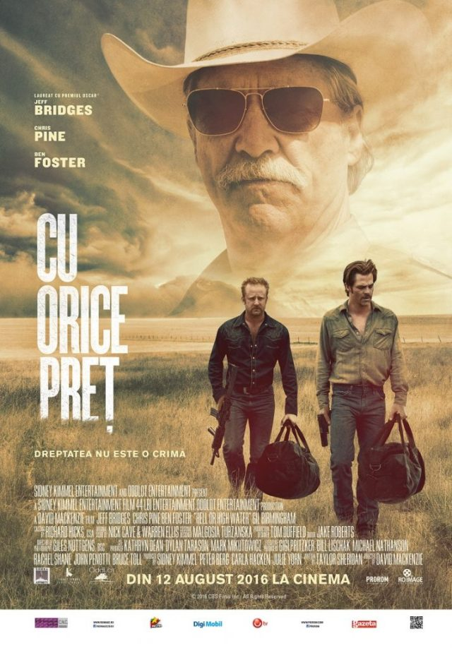 Cu orice pret Hell or High Water POSTER ROMANIA