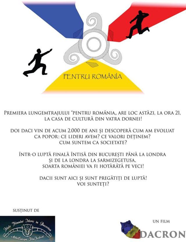 Pentru Romania Vatra Dornei