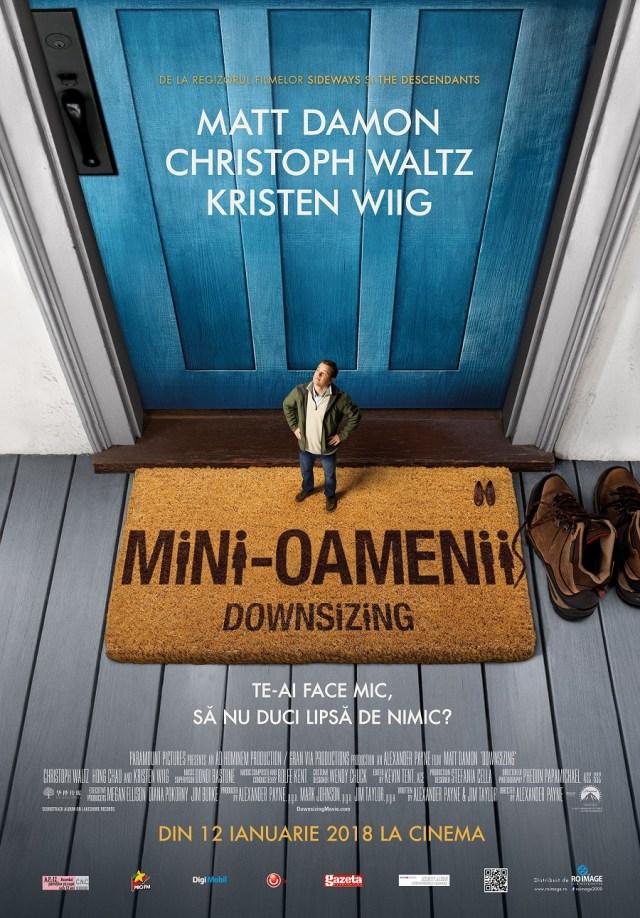 Downsizing. Mini-Oamenii este un film scris de un geniu neinteles