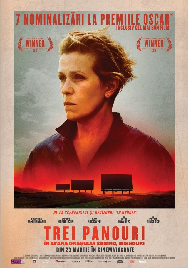Three Billboards Outside Ebbing Missouri – Trei panouri in afara orasului Ebbing Missouri