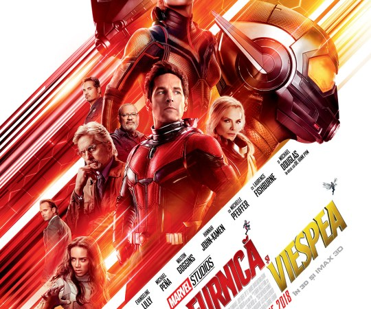 Omul furnica si viespea – Ant-man and the Wasp