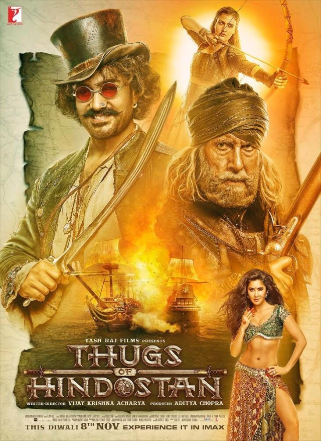 Rebelii din Hindostan – Thugs of Hindostan NU este un Piratii din Caraibe indian