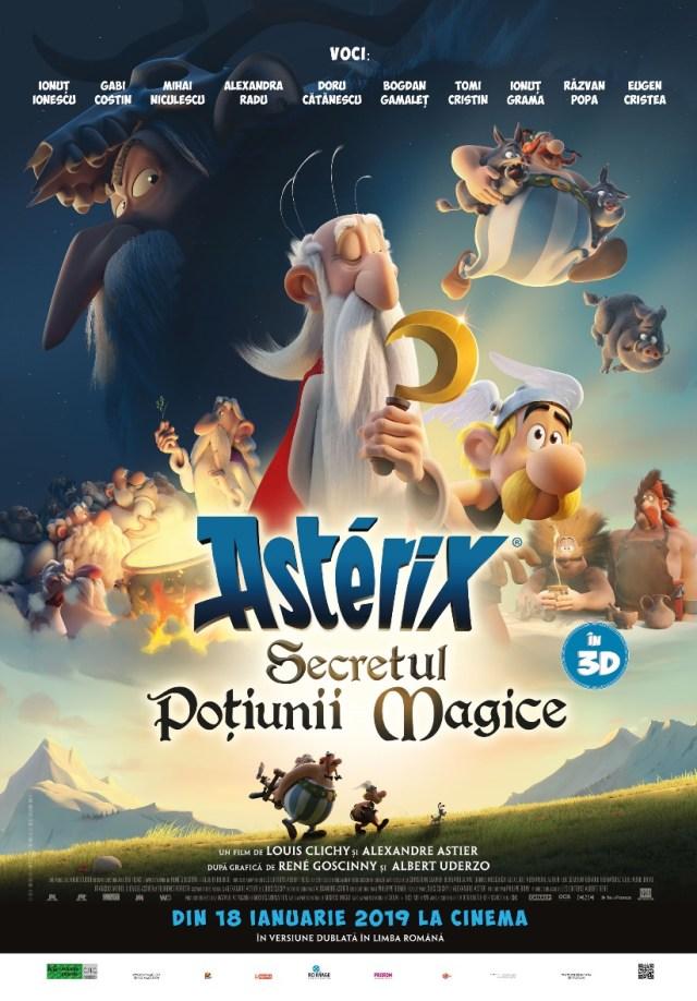Asterix: Secretul potiunii magice – Asterix: Le secret de la potion magique