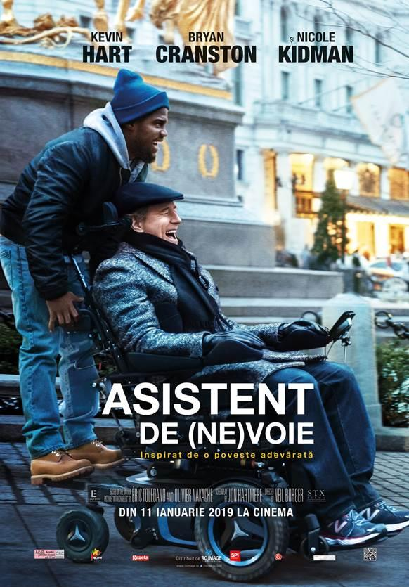 Asistent de (ne)voie – The Upside – copia n-are valoare!