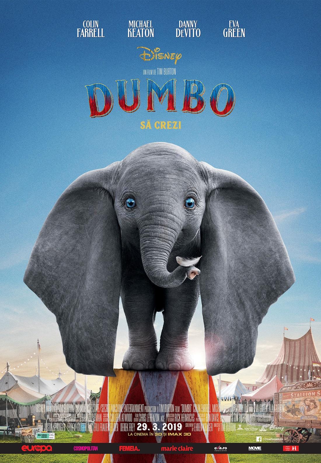 Dumbo poster Romania