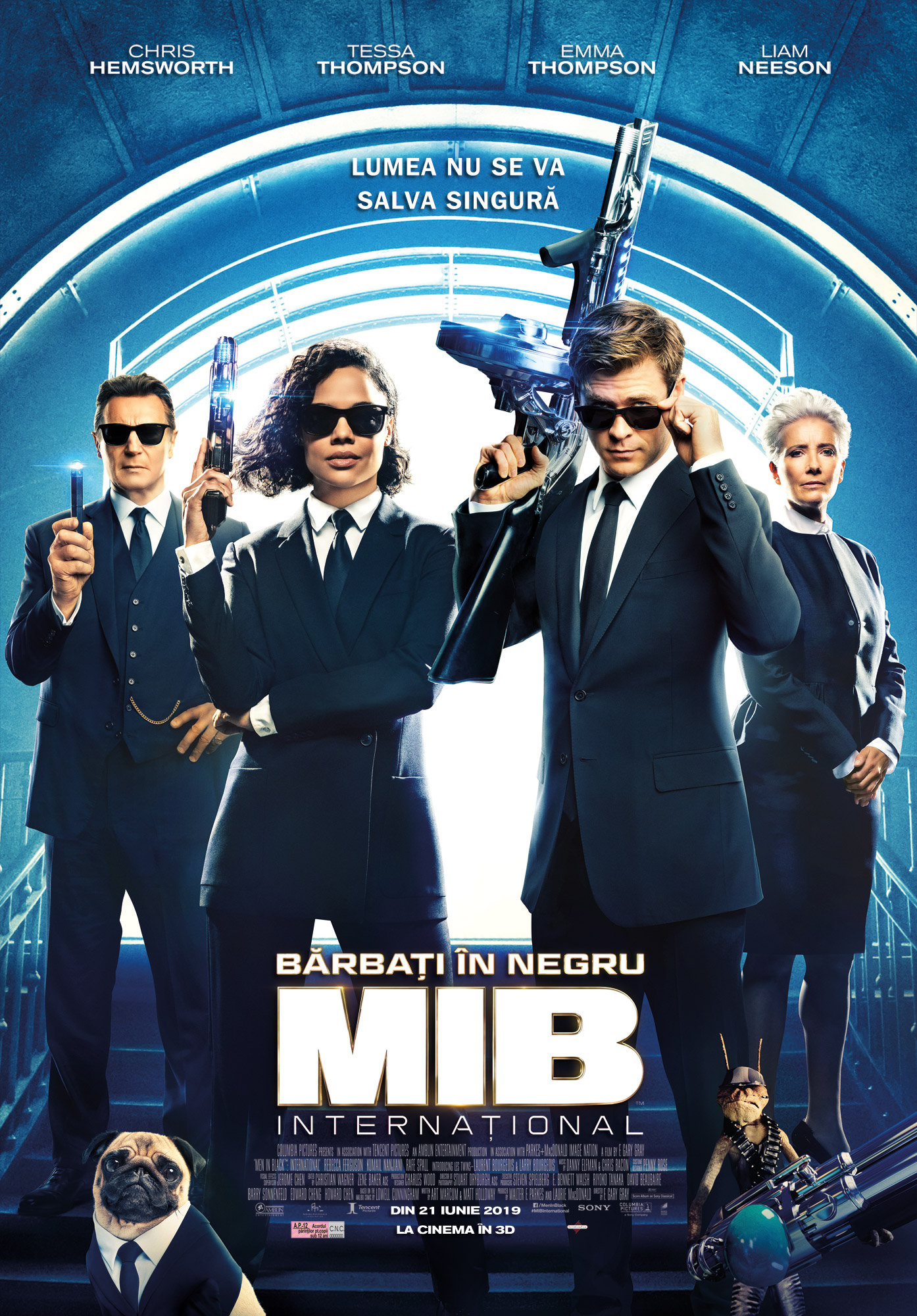 Barbati in negru International – Men in Black: International