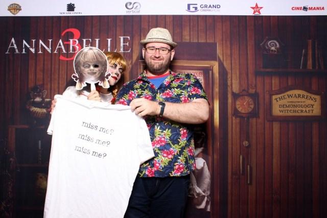 Annabelle 3 - Annabelle Comes Home avanpremiera