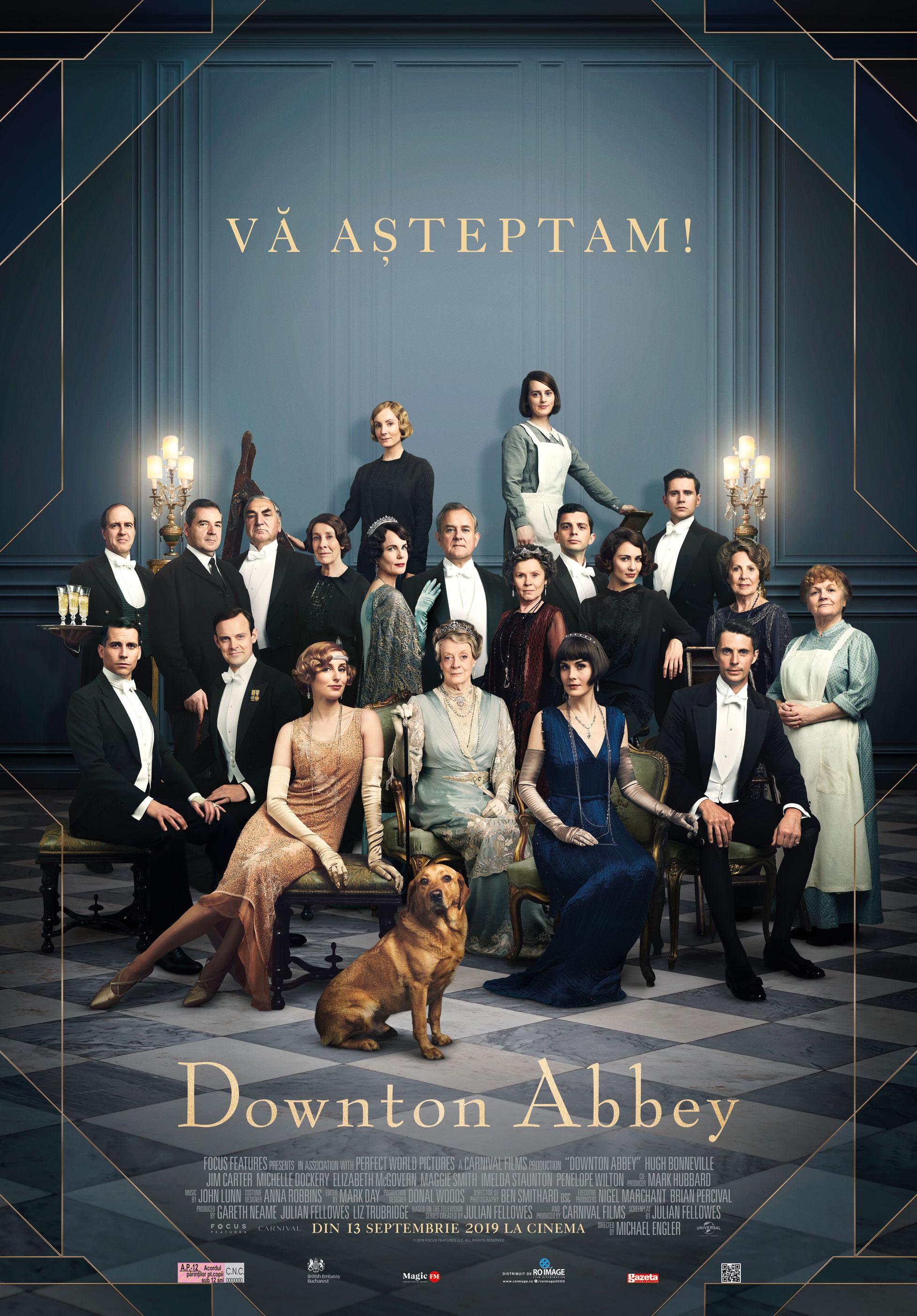 Ioana Zamfir despre Downton Abbey