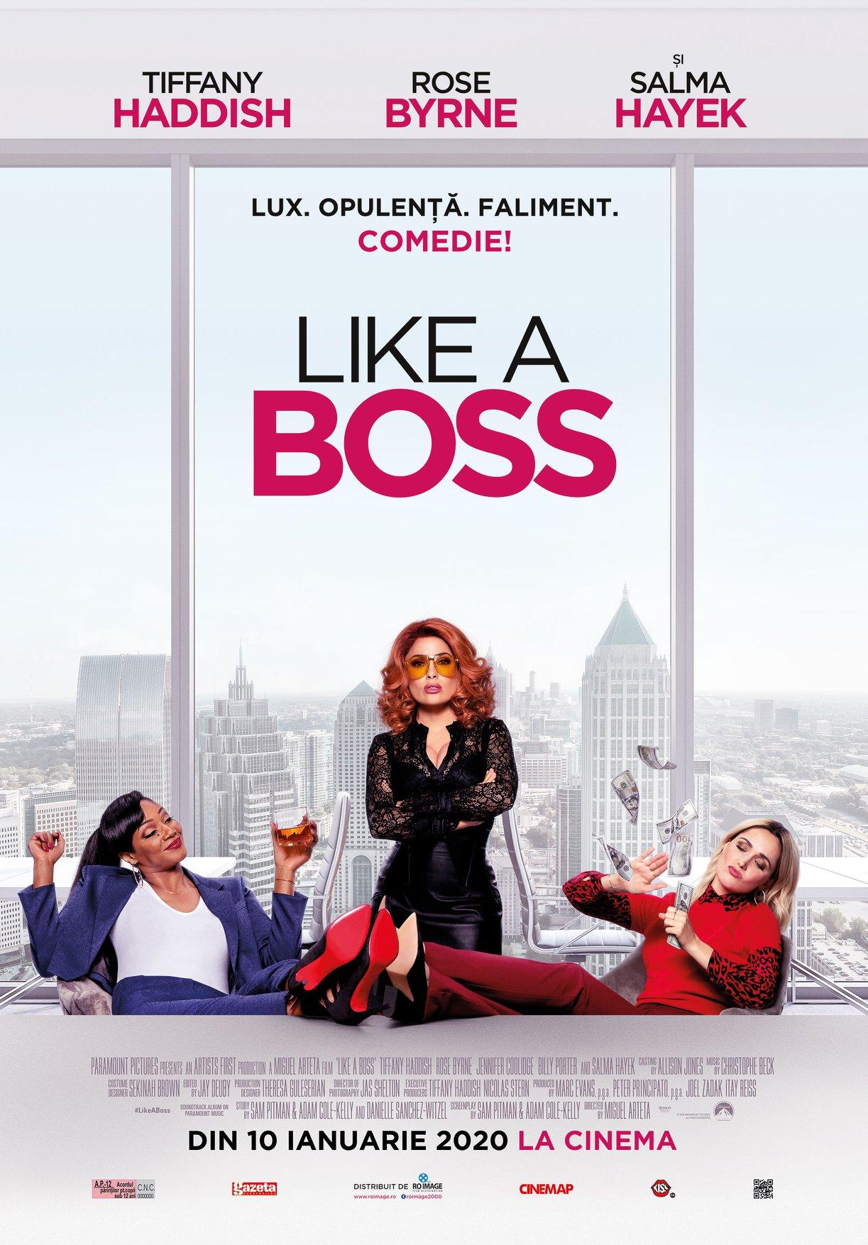 Like a boss POSTER ROMANIA