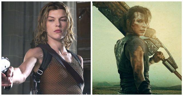 Mila Jovovich Resident Evil vs Monster Hunter 3D