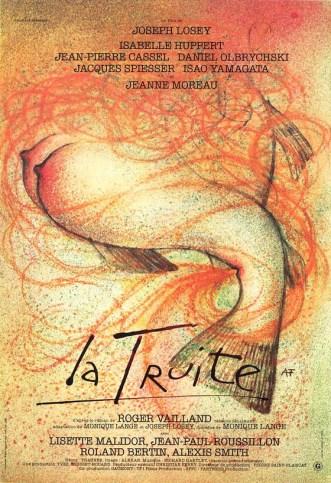Poster for La Truite. Artist: Andre Francois