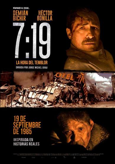 7:19 LA HORA DEL TEMBLOR