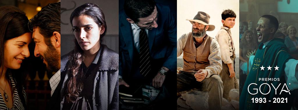 Estas son nuestras películas más galardonadas en los Premios Goya a través de los años