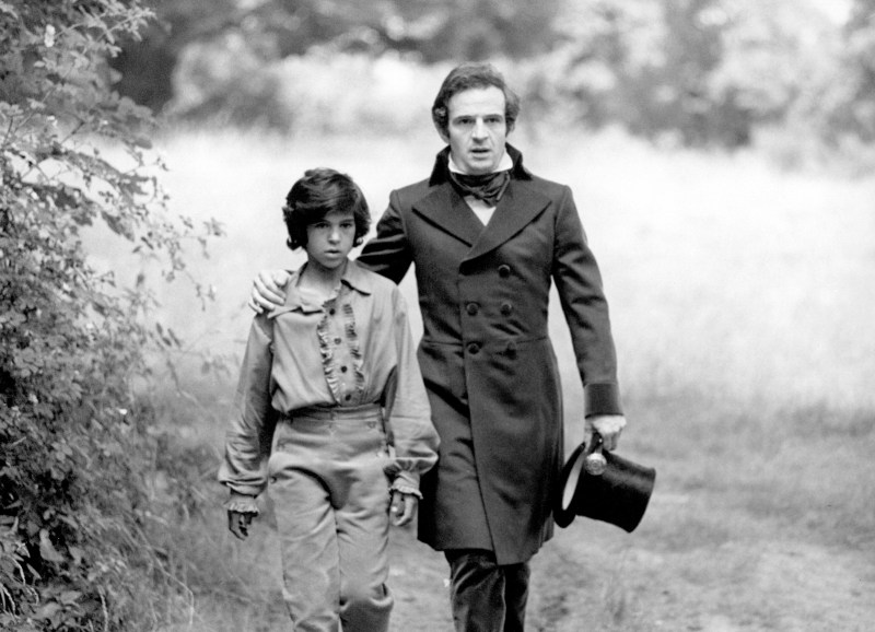 Jean-Pierre Cargol (left) and François Truffaut (right) in François Truffaut's THE WILD CHILD (1968). Credit: Film Forum.  Playing 11/7-11/13