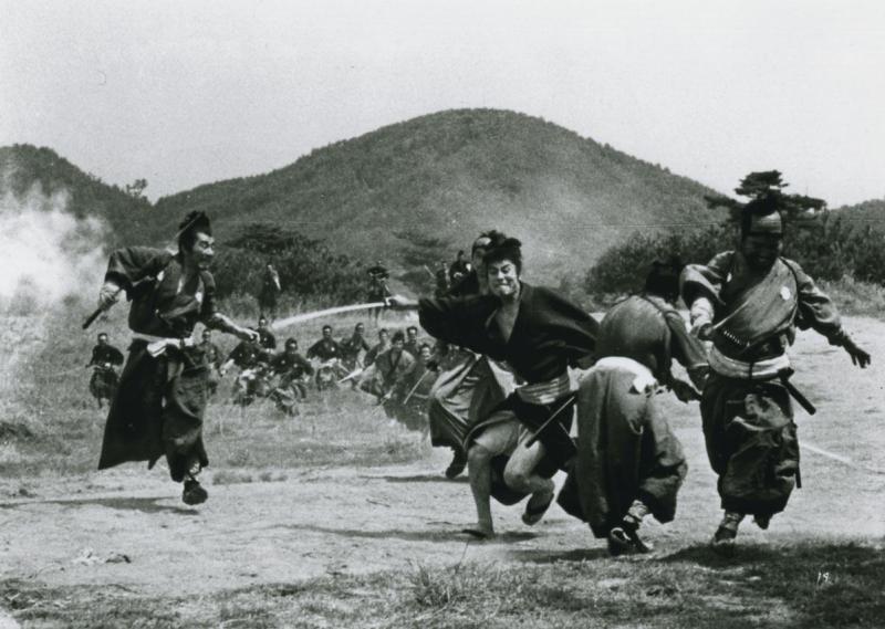 Três Samurais fora da lei