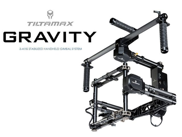Tiltamax Gravity 3-Axis Gimbal System Now Available