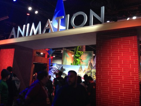 disney animation pavillion